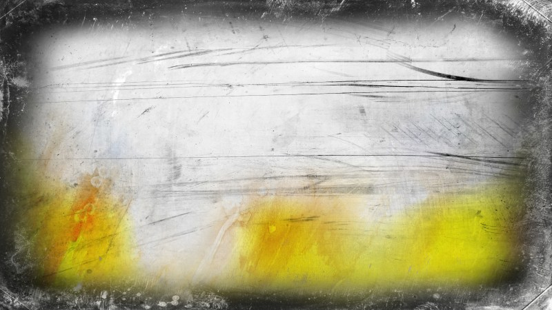 Grey and Yellow Grungy Background Image
