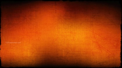 Orange and Black Grungy Background