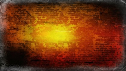 Orange and Black Background Texture