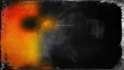 Orange and Black Texture Background