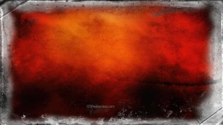 Orange and Black Grunge Background