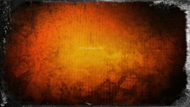 Orange and Black Textured Background