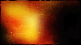 Orange and Black Grunge Background Texture