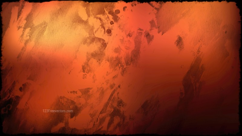 Orange and Black Grunge Background Texture Image
