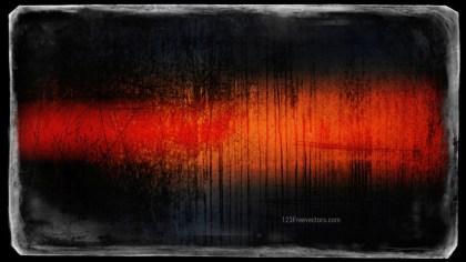 Orange and Black Background Texture Image