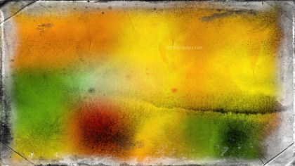 Orange and Green Grunge Background Texture Image