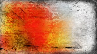 Orange and Grey Grunge Background