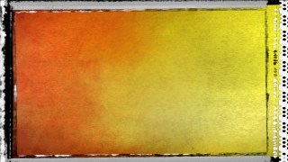 Orange and Yellow Grunge Texture Background
