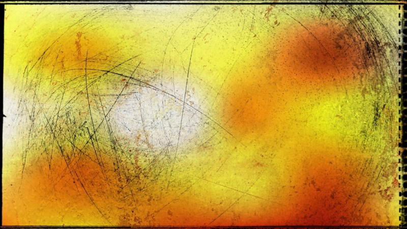 Orange and Yellow Texture Background Image