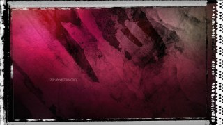 Pink and Black Grunge Texture Background