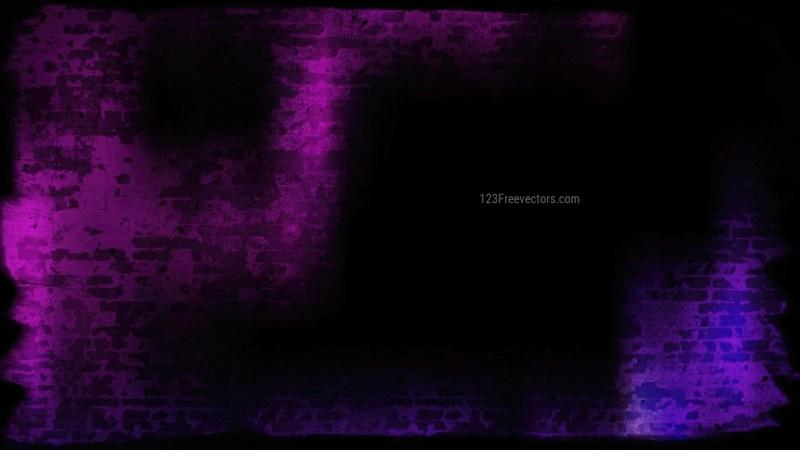 Purple and Black Grunge Texture Background