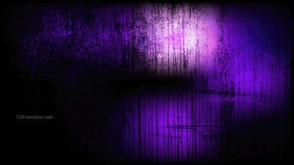 Purple and Black Grunge Background Image