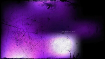 Purple Black and White Grungy Background