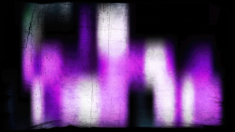 Purple Black and White Grunge Background