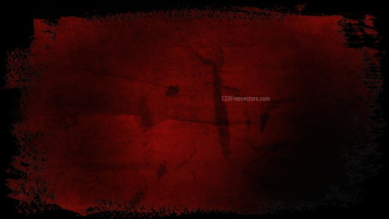 Red and Black Grungy Background