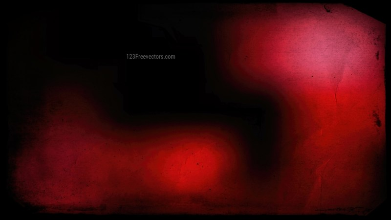Red and Black Grunge Texture Background Image