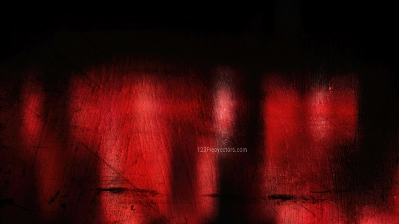 Red and Black Dirty Grunge Texture Background