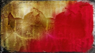 Red and Gold Texture Background Image