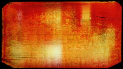 Red and Orange Grungy Background