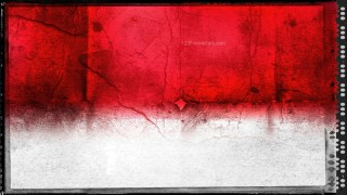 Red and White Grunge Background