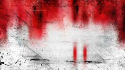 Red and White Grungy Background