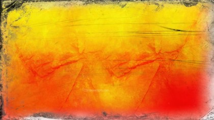 Red and Yellow Grunge Background