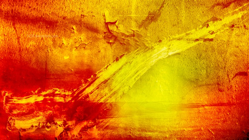 Red and Yellow Grunge Background Image