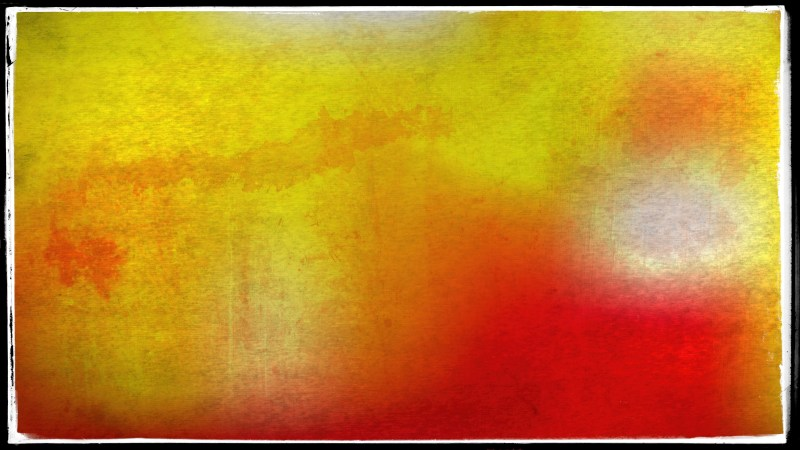 Red and Yellow Dirty Grunge Texture Background Image