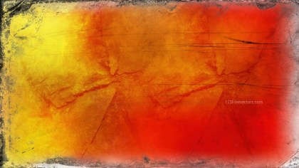Red and Yellow Grunge Background Texture Image