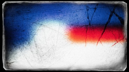 Red White and Blue Grunge Background