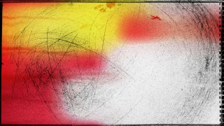 Red White and Yellow Grunge Texture Background