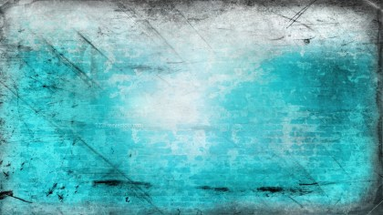 Turquoise and White Grungy Background Image