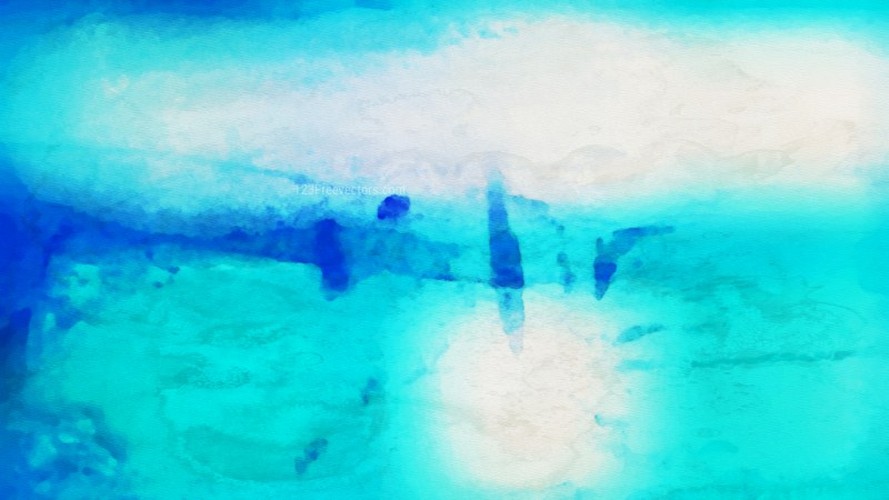 Beige and Turquoise Water Paint Background
