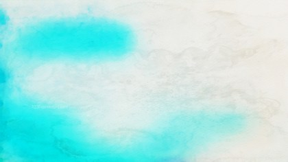 Beige and Turquoise Distressed Watercolor Background