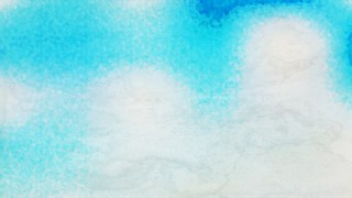 Beige and Turquoise Grunge Watercolor Background Image
