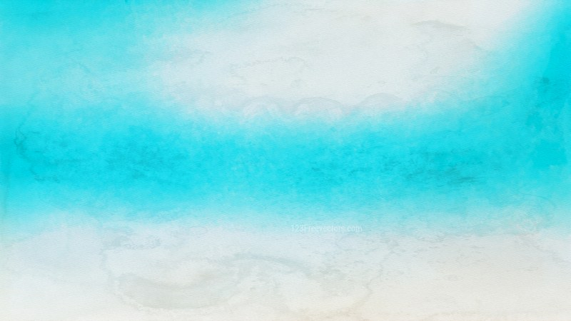 Beige and Turquoise Watercolour Background Texture