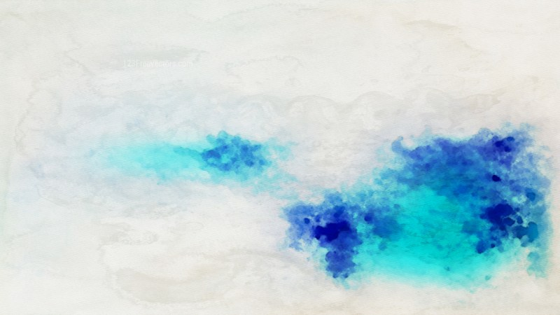 Beige and Turquoise Grunge Watercolor Background