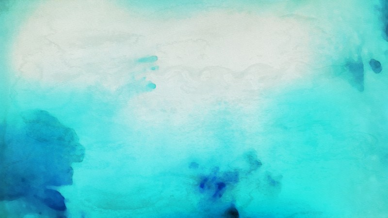 Beige and Turquoise Grunge Watercolor Texture Image