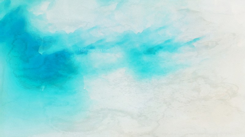Beige and Turquoise Watercolor Texture