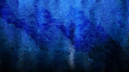Black and Blue Watercolour Background Texture Image