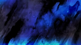 Black and Blue Watercolor Texture Background Image