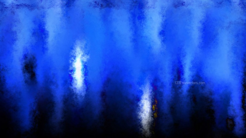 Black and Blue Grunge Watercolor Background