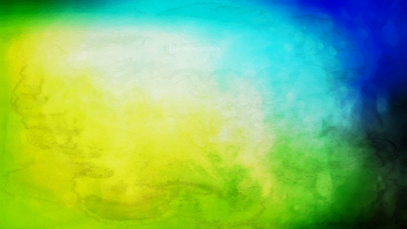 Black Blue and Green Aquarelle Background Image