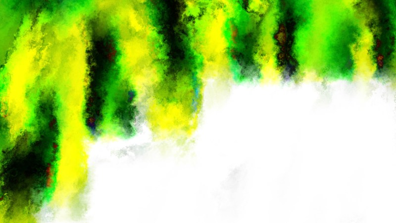 Black Green and Yellow Watercolor Texture Background