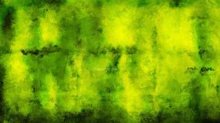 Black Green and Yellow Distressed Watercolour Background