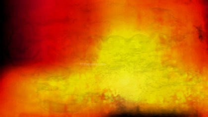 Black Red and Yellow Watercolor Background