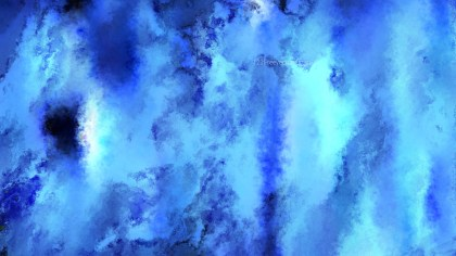 Blue Water Paint Background Image