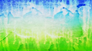 Blue and Green Watercolor Texture Background Image