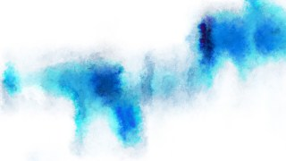 Blue and White Watercolor Texture Background Image