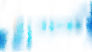 Blue and White Grunge Watercolour Texture Background Image